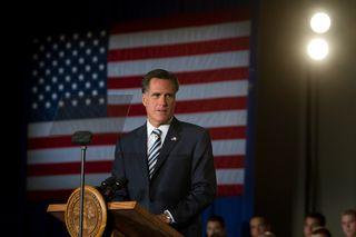 Romney at Citadel